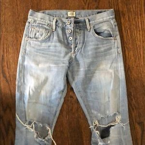 Citizen of humanity distressed jean